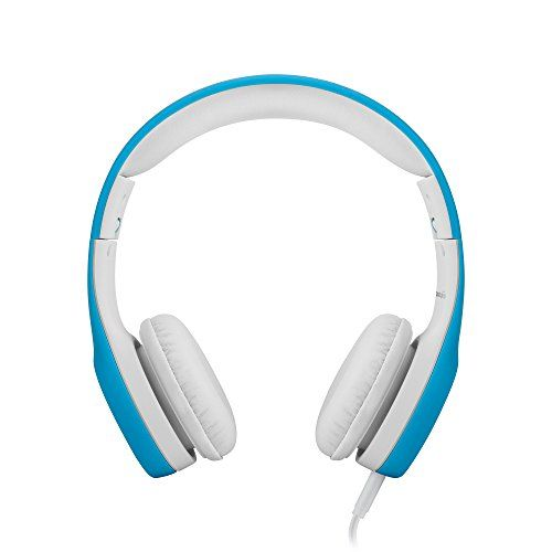 LilGadgets Join+ Premium Quantity Restricted Wired Headphones with SharePort® for Youngsters (Blue) The Join+ is a superbly designed, high-quality, wired y