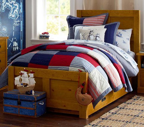 Sean Quilted Bedding | Pottery Barn Kids