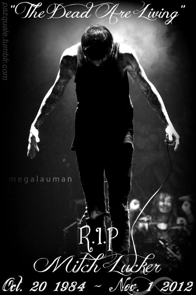Horns Up Rocks: Last Picture Of SUICIDE SILENCE's Mitch ...