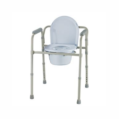 Roscoe Medical Three-In-One Folding Commode