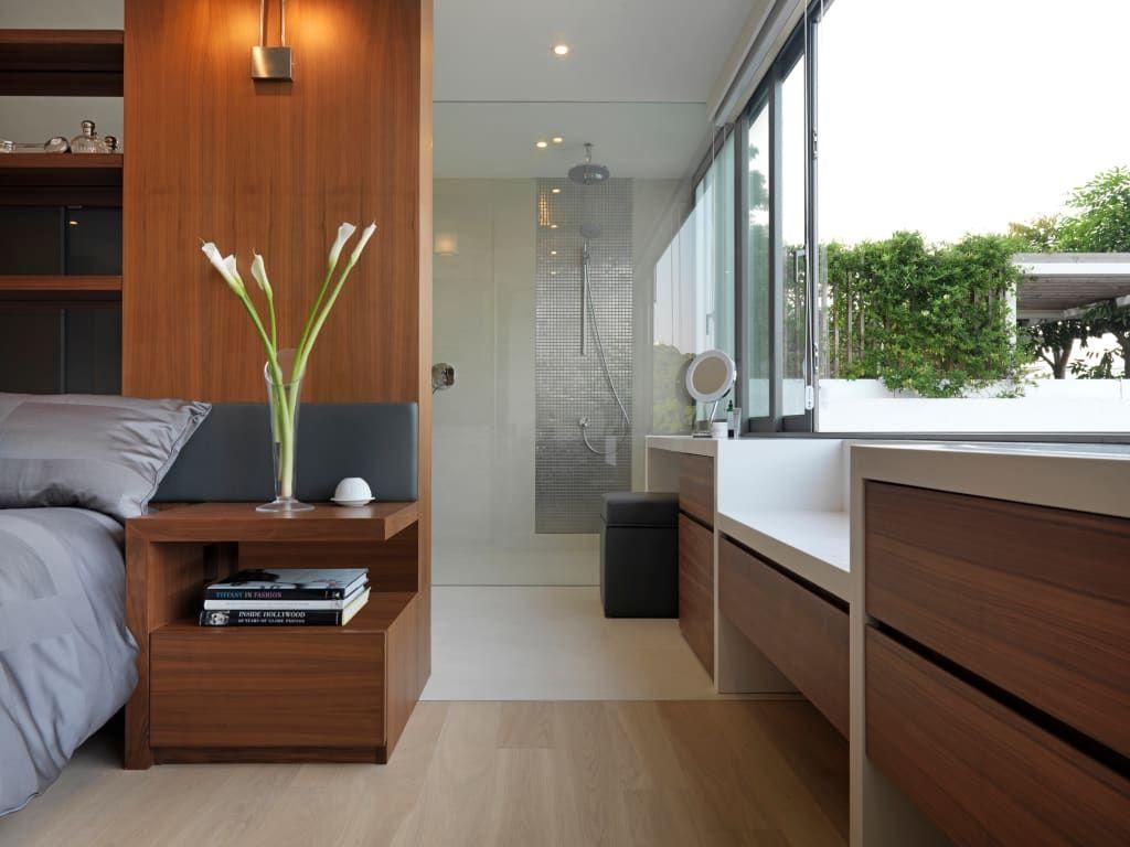 Clearwater bay villa modern style bedroom by original