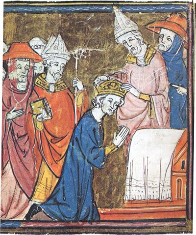 The Coronation Of Charlemagne Charlemagne Carolingian Medieval Art