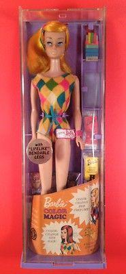 1966 Vintage Color Magic Barbie MIB 1150