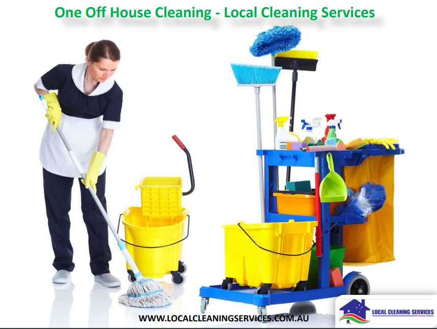 Local House Cleaning offers a Meticulous One Off Cleaning