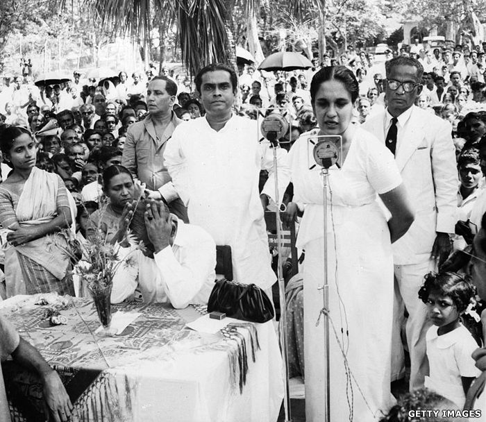 Sirimavo Bandaranaike became the world's first elected woman head ...