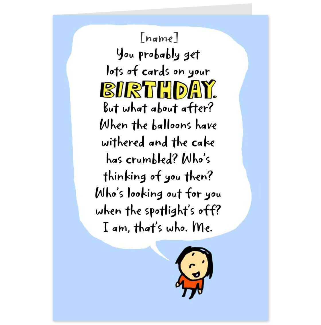 funny gift card sayings Google Search Birthday quotes