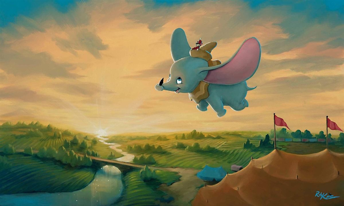 Disney Dumbo Fond D Ecran Iphone Apple Disney Petite Souris