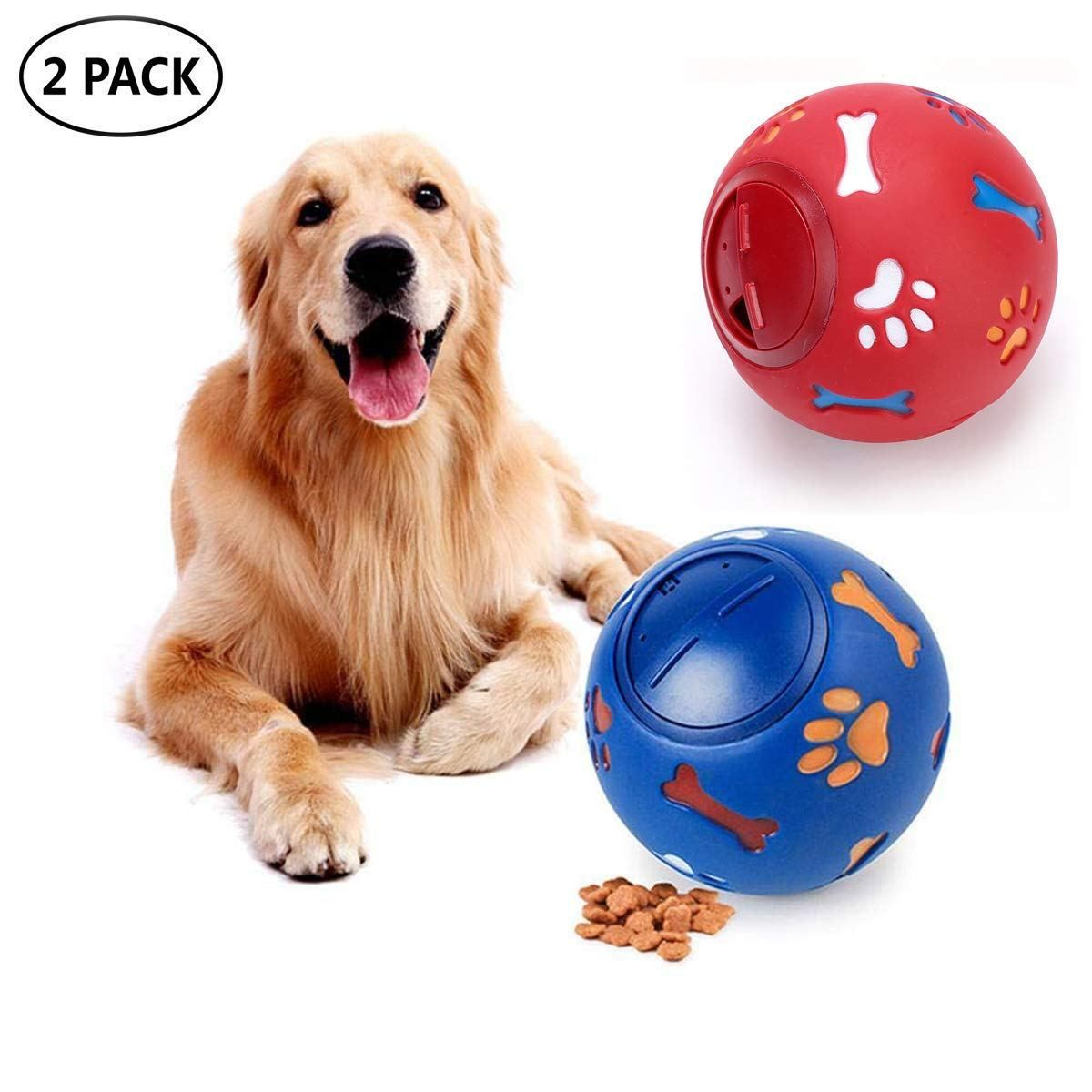 Info's : LEMON PET Puppy Dog Food Dispensing Feeder Ball IQ Treat Interactive Dogs Toy, Adjustable¡­ - Lovely Novelty