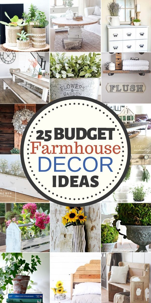 How To Do Rustic Home Decor On A Budget: 25 DIY Ideas