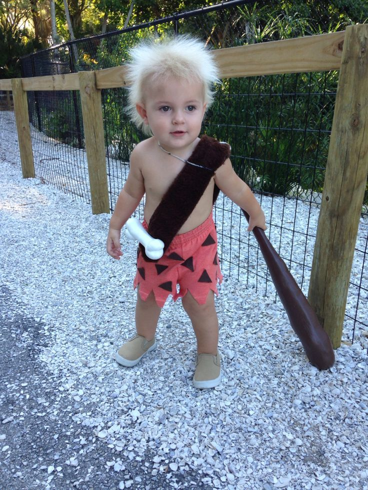 DIY Toddler Bam Bam Halloween Costume  sc 1 st  Pinterest & DIY Toddler Bam Bam Halloween Costume | Halloween Ideas! | Pinterest ...