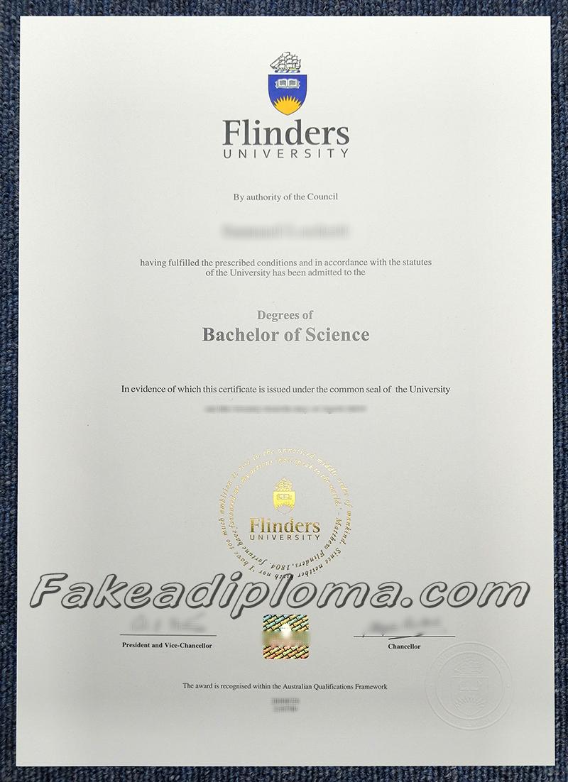 Get Fake Flinders University Diplomas Online