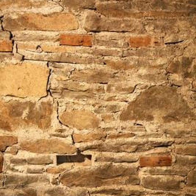 Beautiful Basement Wall Crumbling