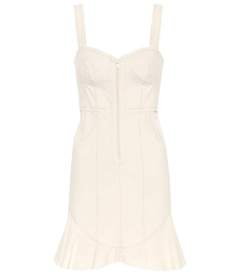 Jayne cotton-blend minidress Isabel Marant 3QJ51m