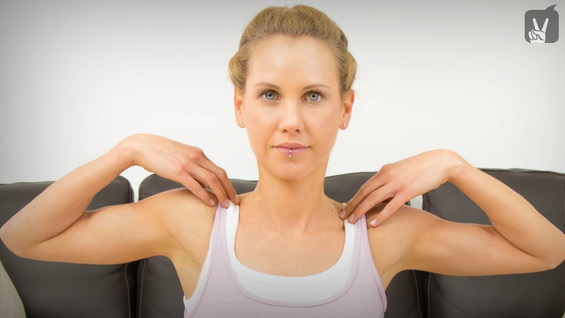 Yoga gegen Verspannungen im Bereich Schulter und Nacken ...