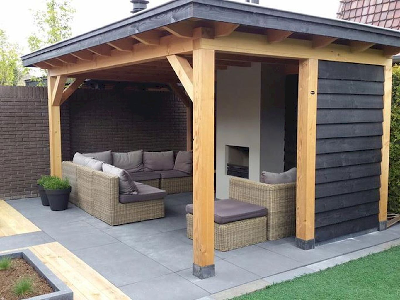 Awesome Gazebo Backyard Ideas - javgohome-Home Inspiration #backyardideas