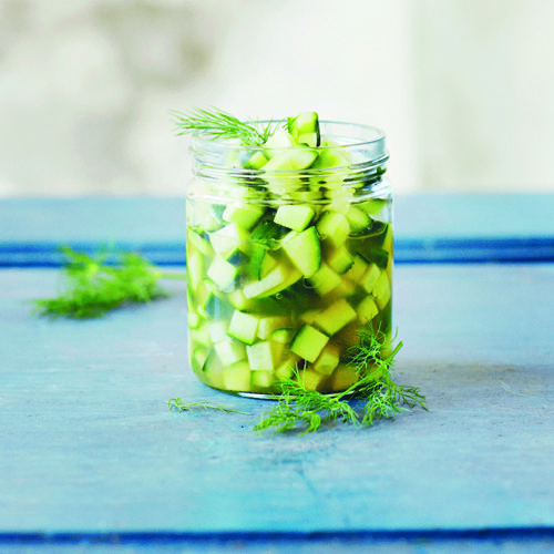 Picklede agurker - GreenGoddessGuide