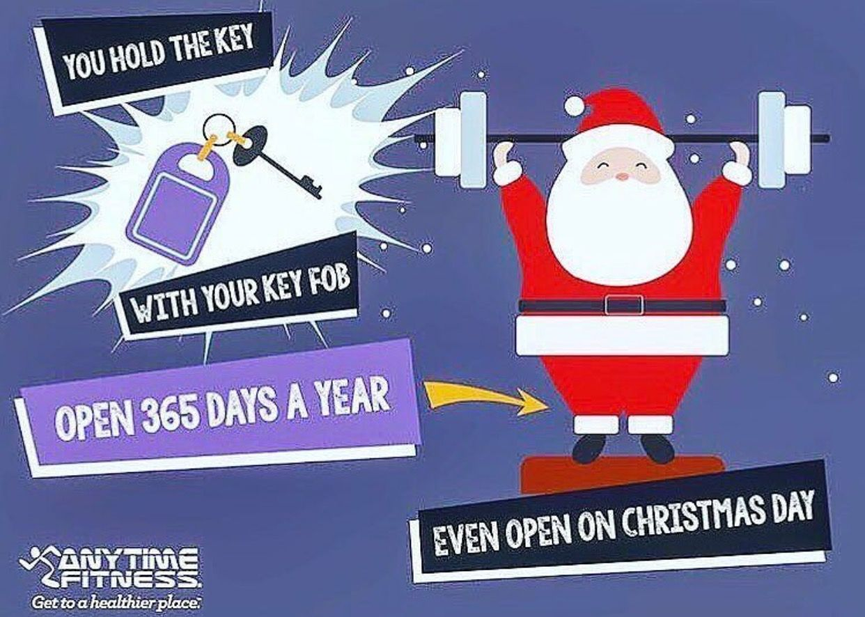Pin By Lisa Atkins On Anytime Fitness Anytime Fitness Open On Christmas Plank Workout
