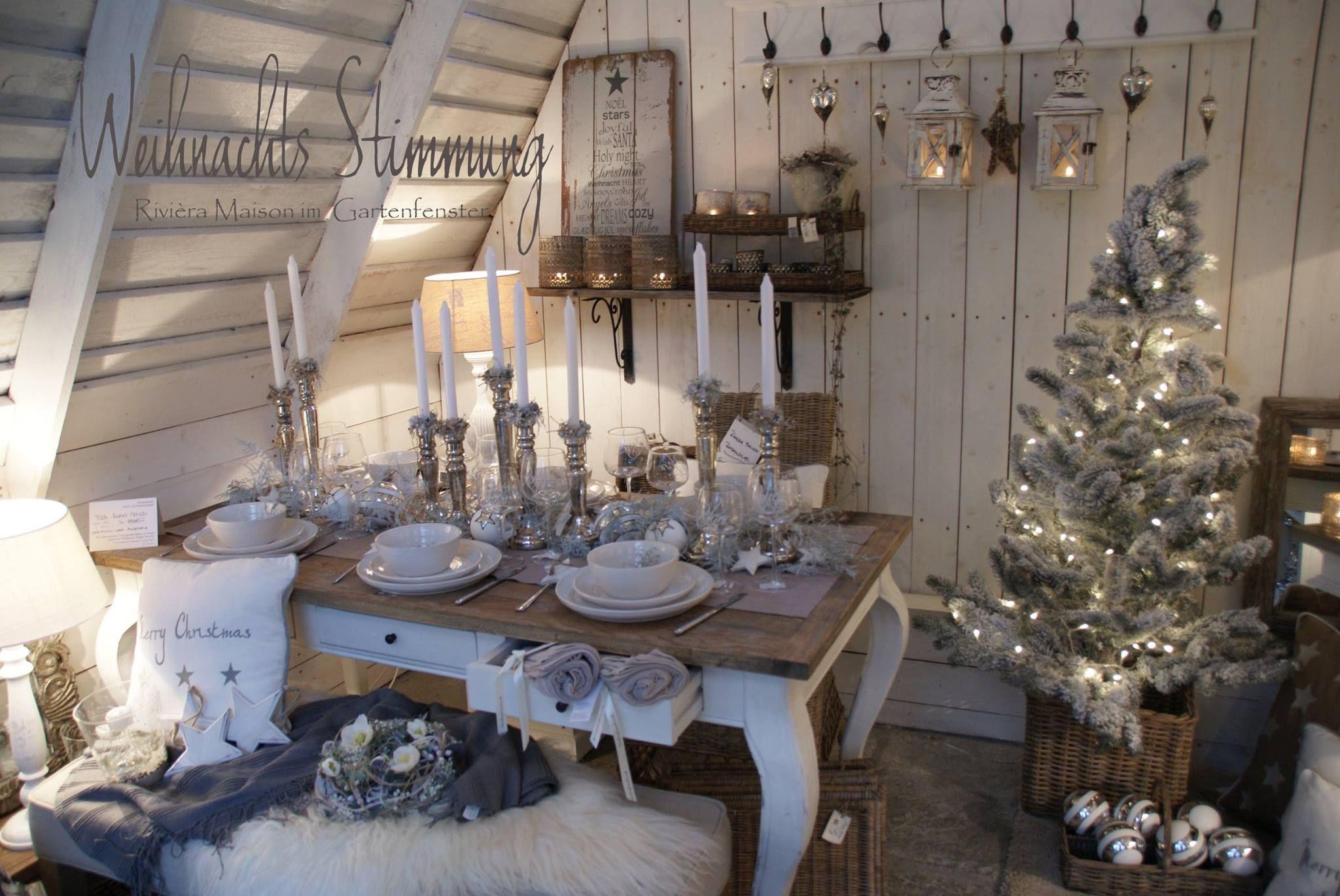 Shabby Chic Natale : Il natale di rivièra maison nel gartenfenster cottage christmas