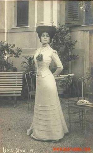 Lina Cavalieri 1905 by SayaValentine