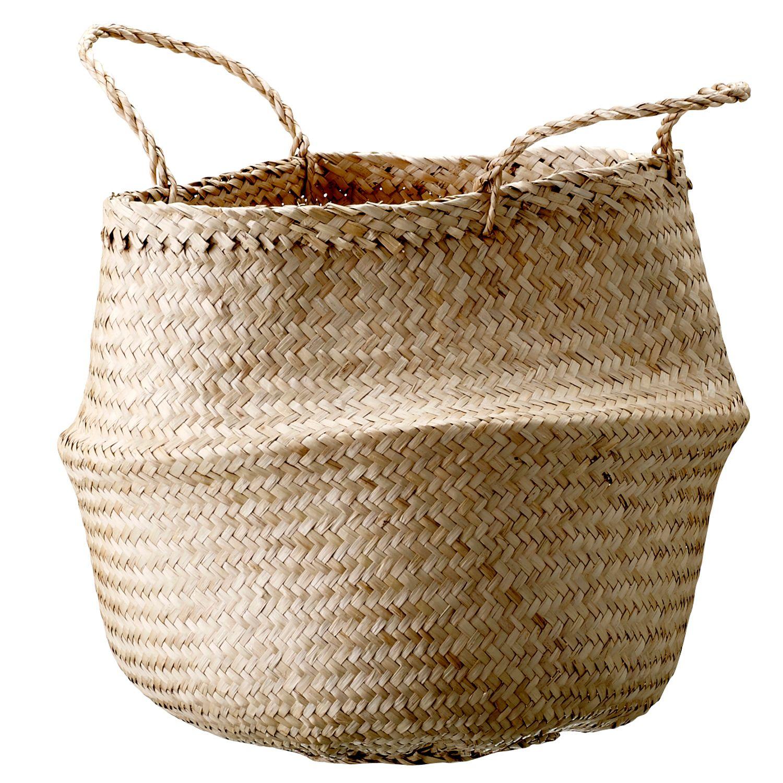 Seagrass kori merkiltä Bloomingville. Tyylikäs kori on valmistettu niinistä. Kori on ...