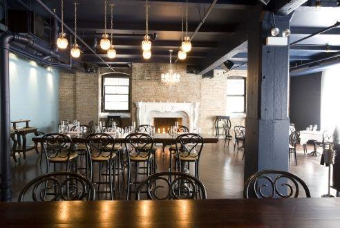 Rm champagne salon chicago kitchen restaurant design - Commercial interior design chicago ...