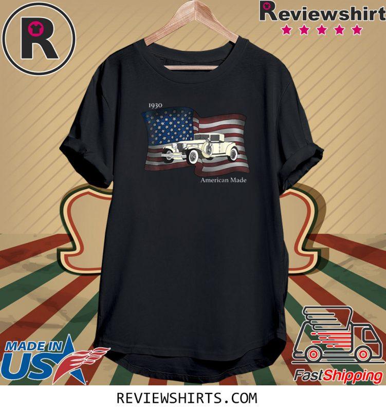 American Made Classic Car Vintage TShirt – OrderQuilt.com