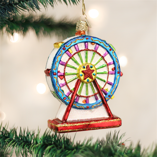 Ferris Wheel Ornament Old world christmas ornaments, Old