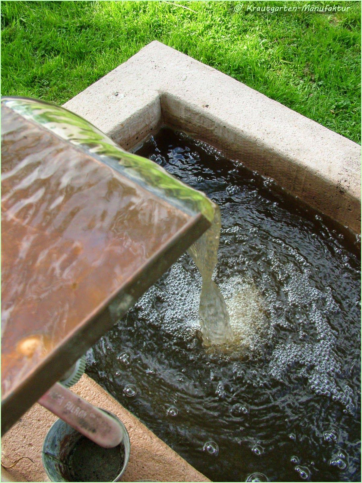 Die Krautgarten Manufaktur: Ein Sandstein Brunnen Nach Maß