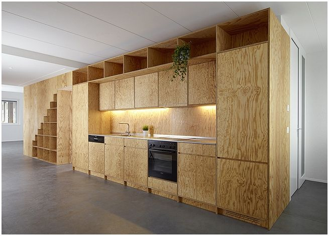 Plywood Kitchen Cabinet Doors | AMA | Pinterest | Plywood kitchen ...