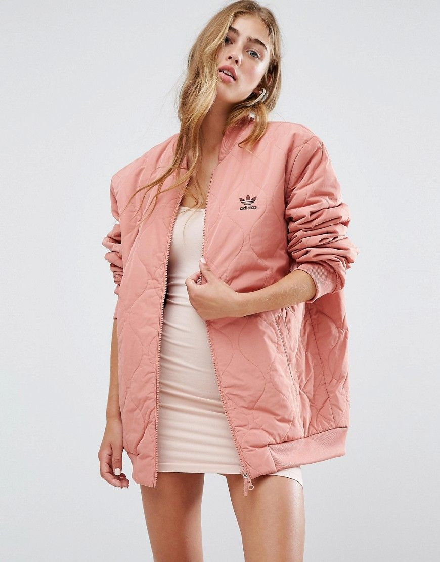 Now Multi Buy Quilted It Bomber Adidas Originals Oversized Jacket 5C6Cnvqwx