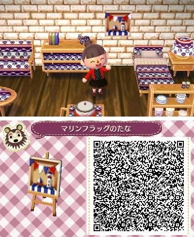Animal Crossing New Leaf Qr Codes And Room Ideas Animal Crossing Qr Animal Crossing Qr Codes Animal Crossing