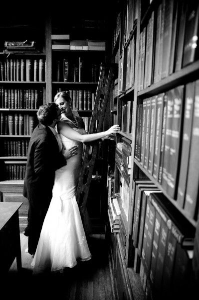 Real Weddings Vicki Mike Events To A T Library Wedding Literature Wedding Real Weddings