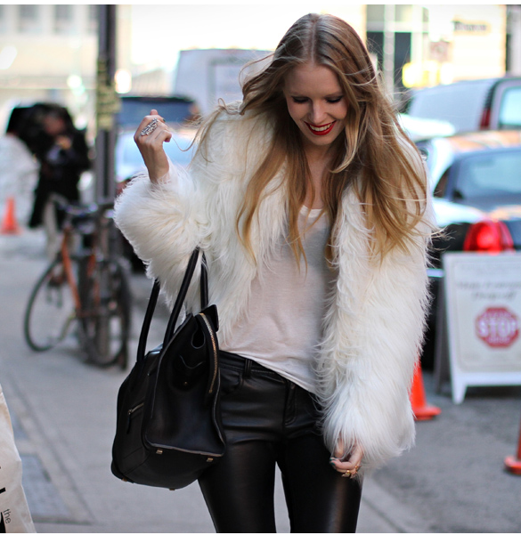 fur + leather