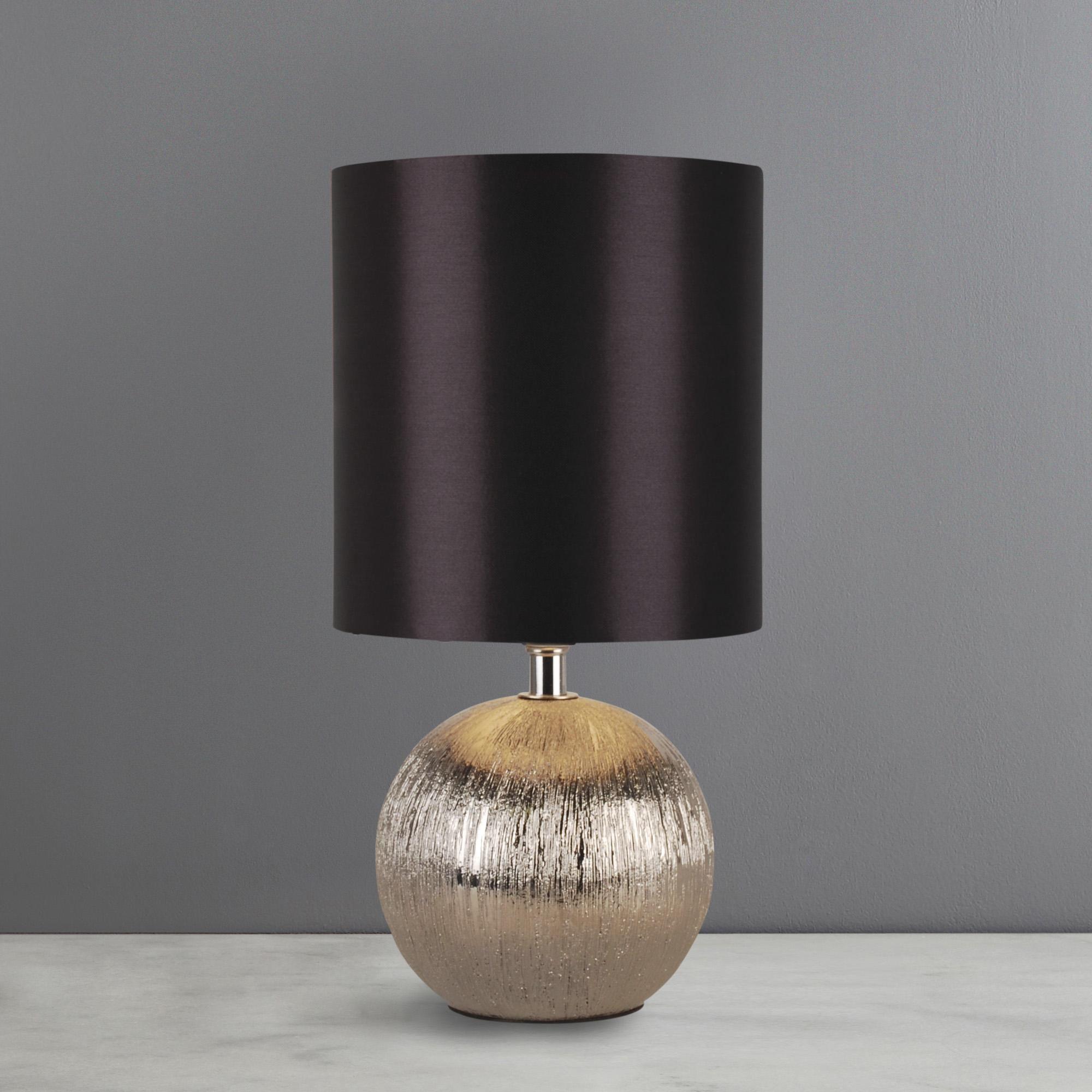 Dunelm Luxury Ceramic Black Adana Mini Touch Lamp in 2020