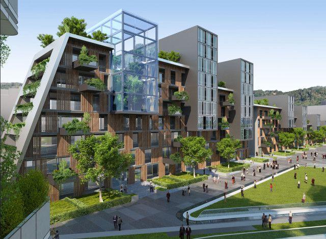 Conception De Paysage Innovante Pour Les Habitations De Pays Et De Villes