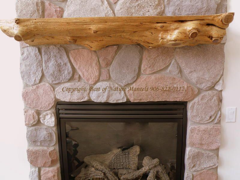 Images Of Log Fireplace Mantels