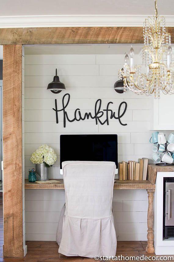 Cute Farmhouse Office Space