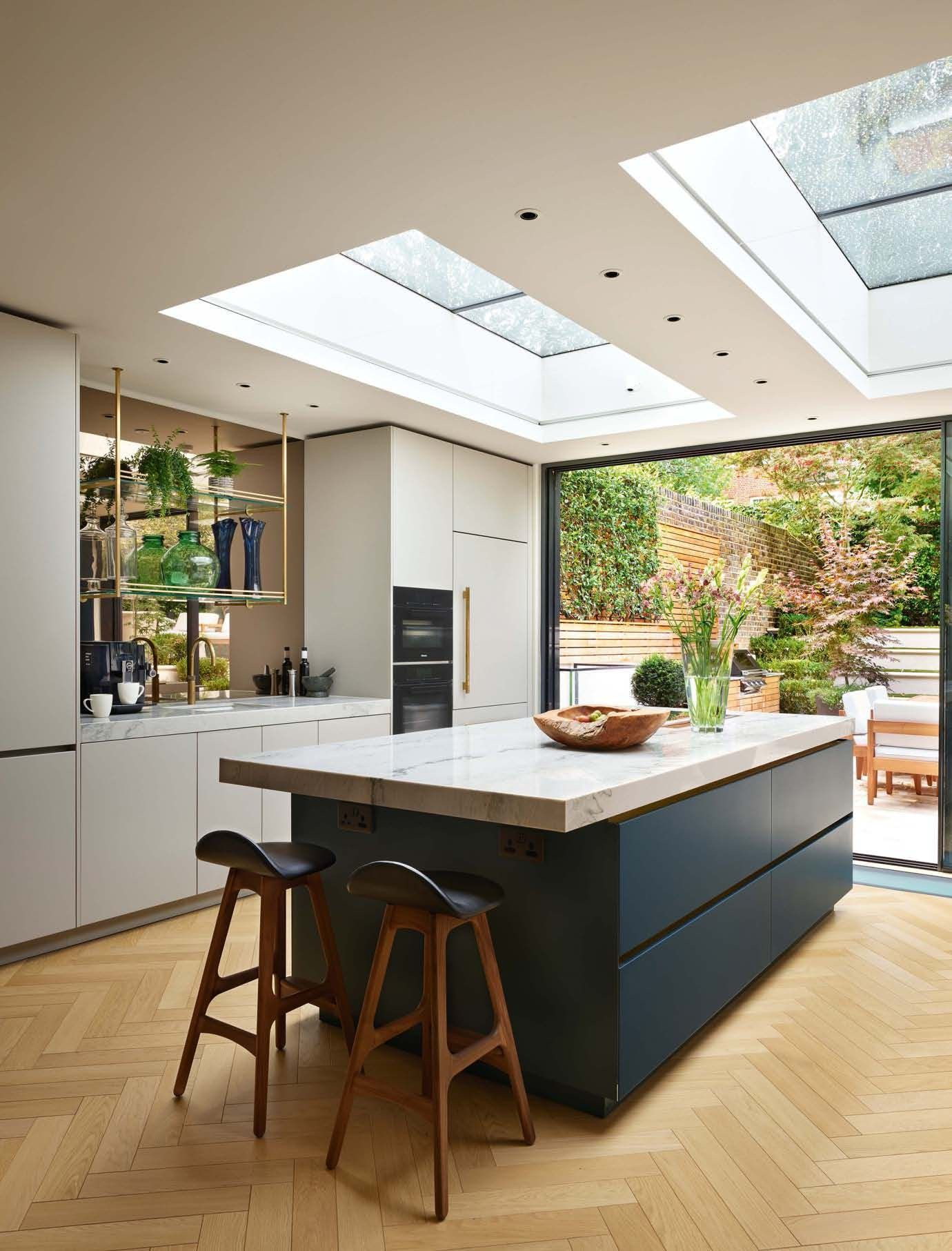 Pin by luciesrvs on cuisine in 18  Open plan kitchen living
