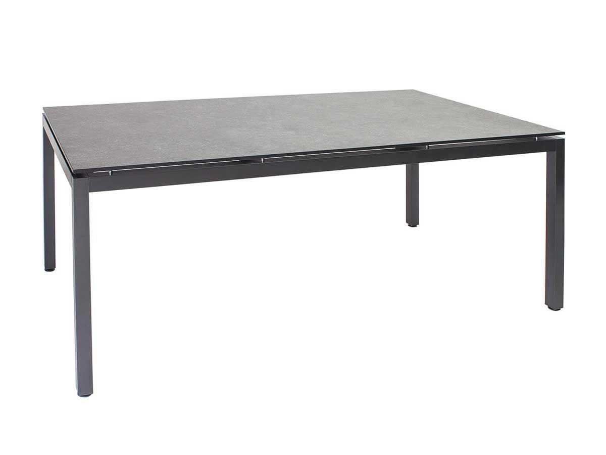Stern Gartentisch Tischsystem Aluminium Anthrazit Silverstar Dekor Vintage Grau 200x100 Cm Kaufen Im Borono Online Shop Gartentisch Dekor Tisch