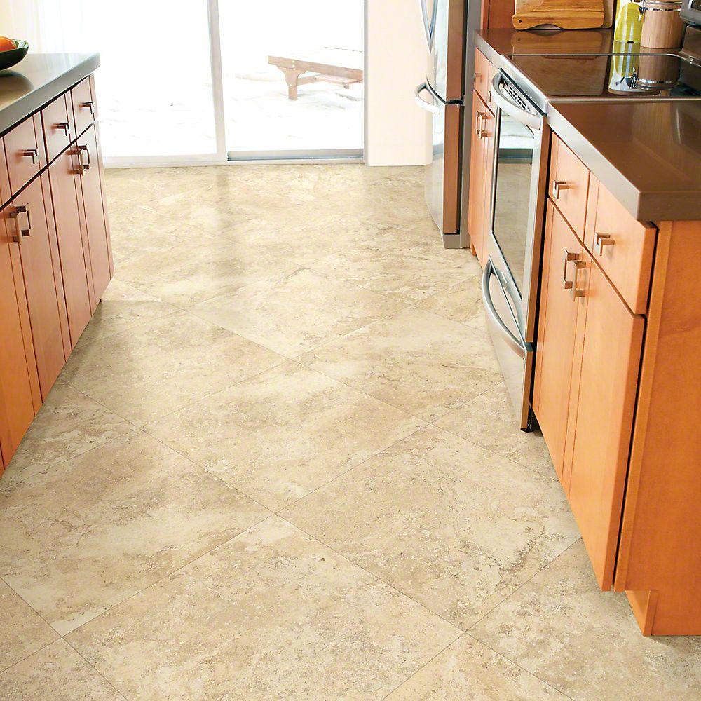Centennial Tile 18 X 18 X 2mm Luxury Vinyl Tile In 2020 Vinyl Flooring Luxury Vinyl Tile Flooring