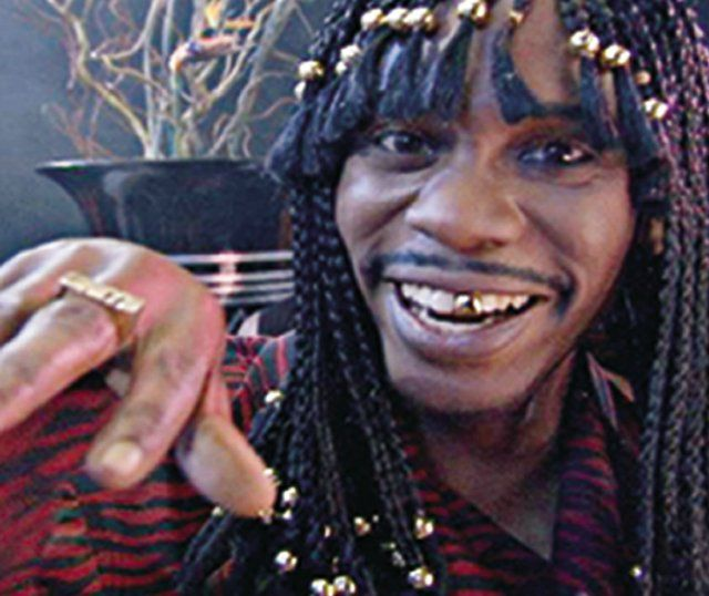 Dave Chappelle in Chappelle's Show...I'm Rick James Bitch ...