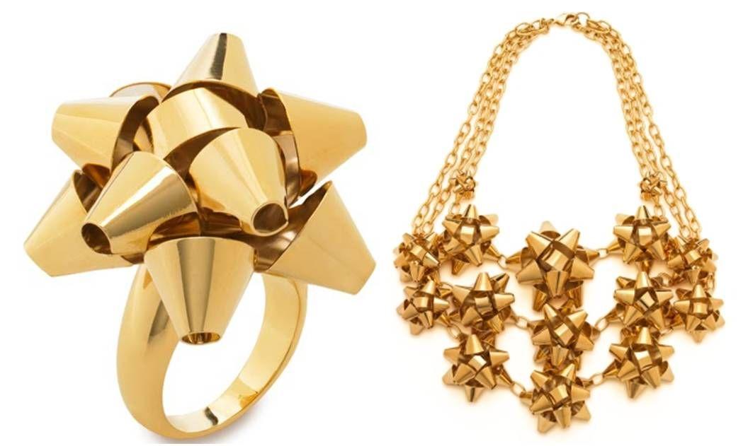 Kate Spade Christmas Bow Jewelry
