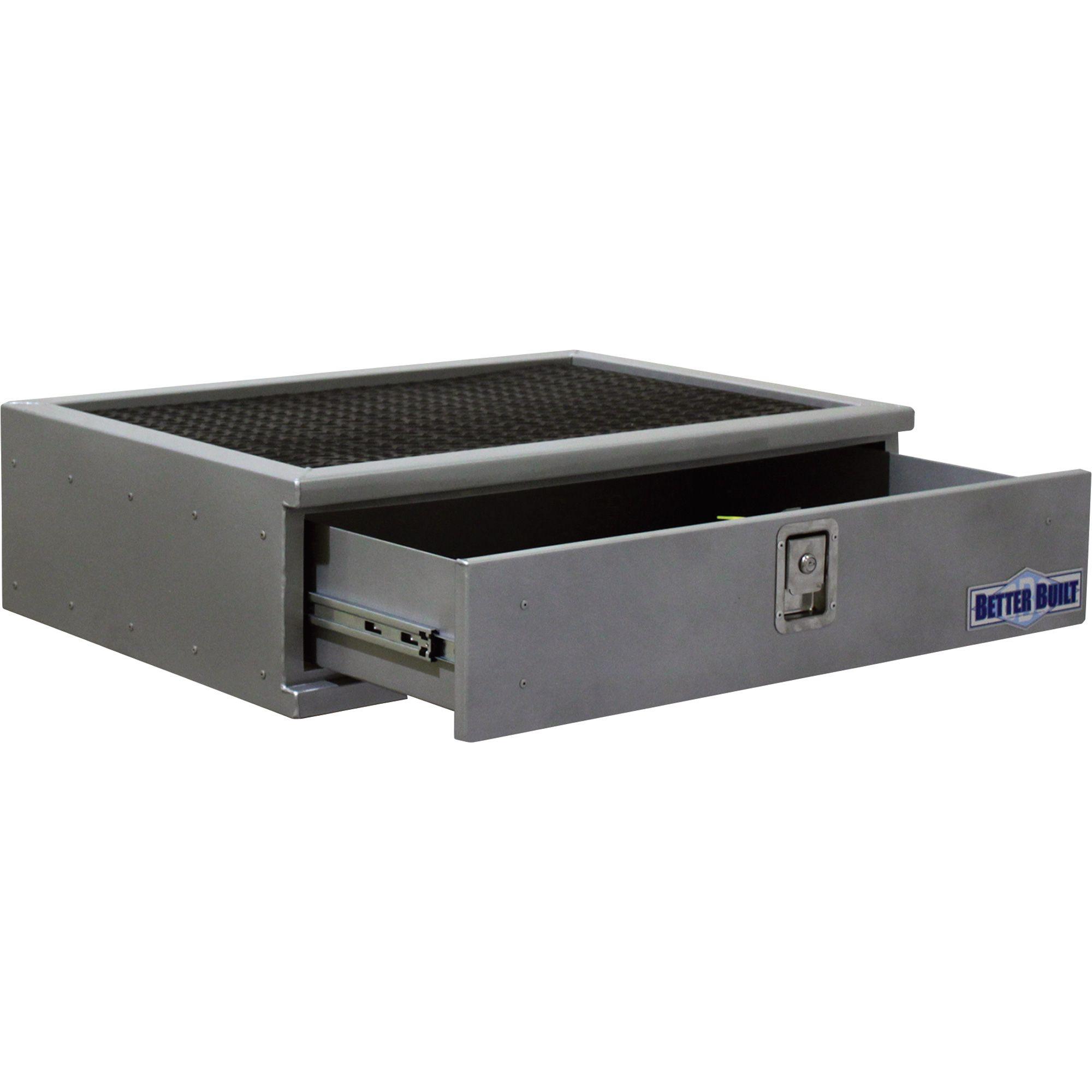 Better Built Short Locking Suv Storage Drawer Aluminum