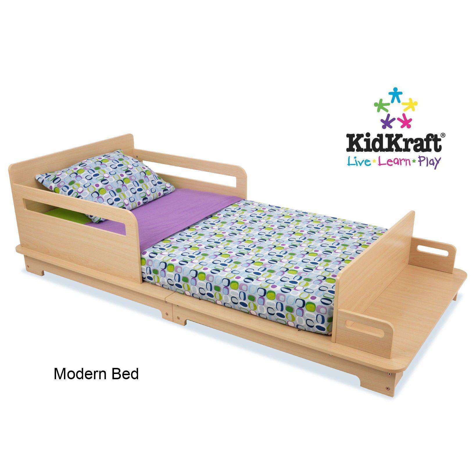kidkraft modern toddler bed    toddler bed - mattress · kidkraft modern toddler