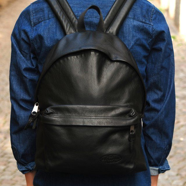 Leather Padded Pak'R Rucksack by Eastpak | Leather and By