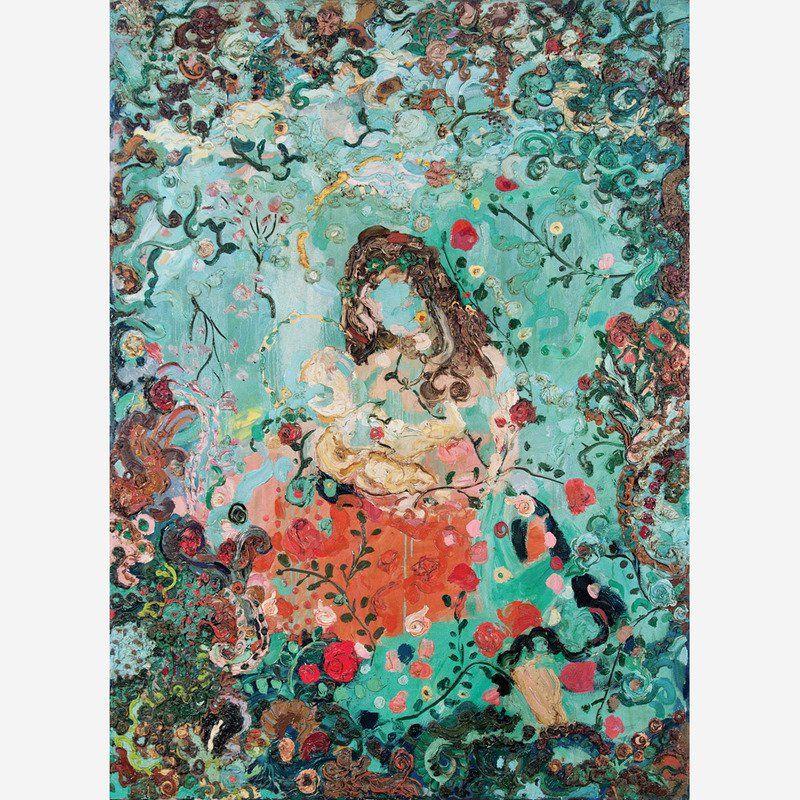 Natividade 1987, óleo sobre tela, 180 x 130 cm
