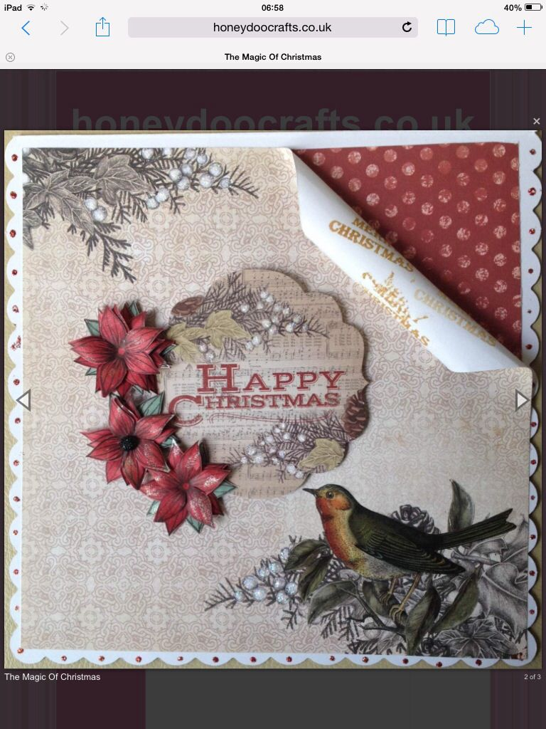 Craftwork Cards Magic Of Christmas Christmas Cards Pinterest
