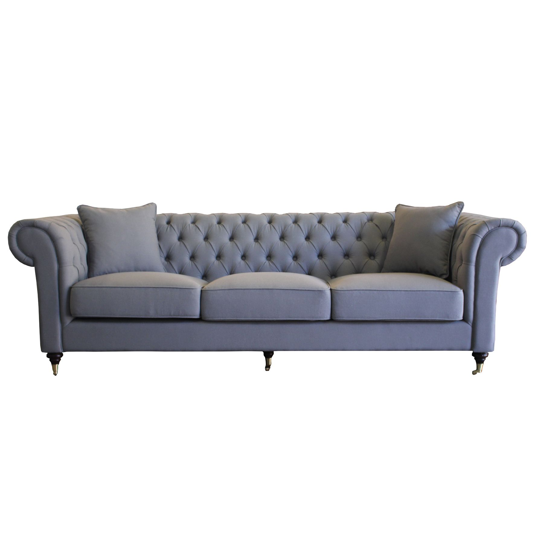 Grey Chesterfield Sofa Perugia Products Seating