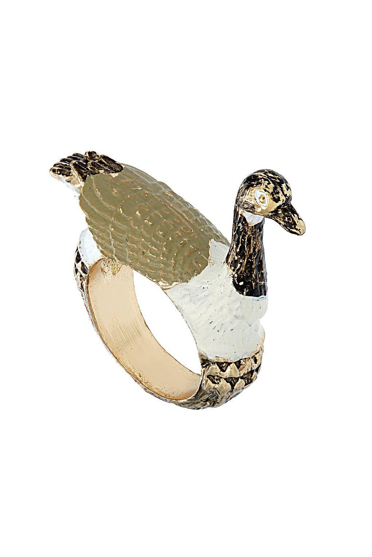 #Goose #Ring #Topshop
