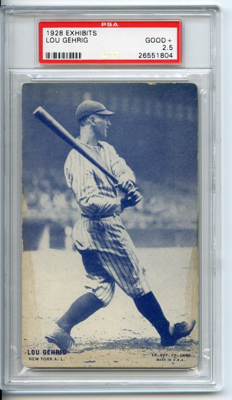 lou gehrig baseball cards for sale